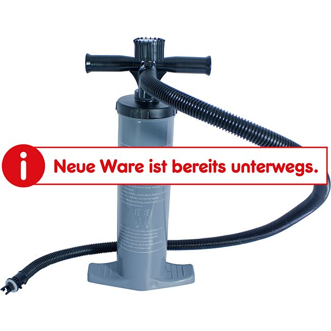 VANGO Stand Pumpe Doppelhub Kolben Luft Bett Manometer Kite Pumpe Boot 2x2 Liter - Bild 1