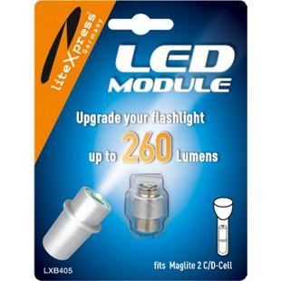 LITEXPRESS LED Upgrade Modul 278 Lumen für 2 C/D Maglite Taschenlampe – LXB405 - Bild 1