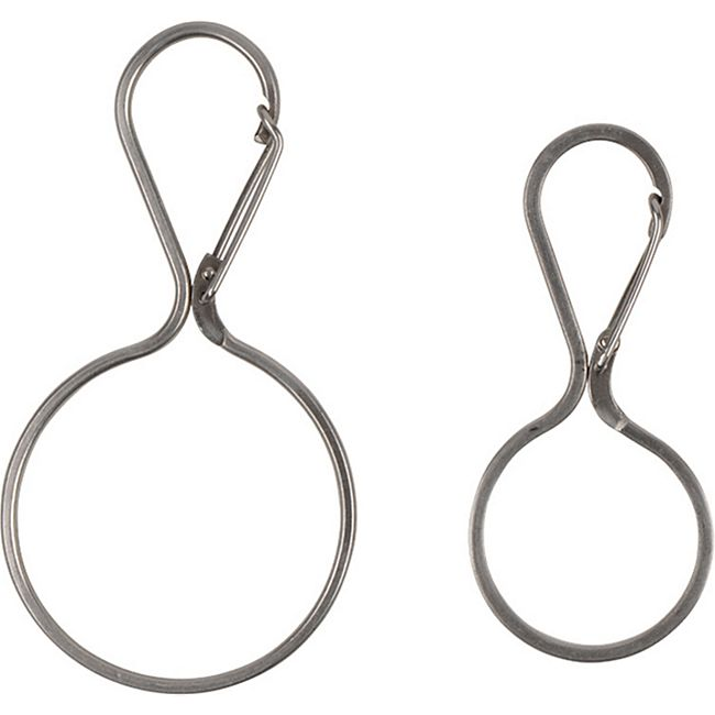 NITE IZE InfiniKey Clip Edelstahl Karabiner Schnapphaken Schlüssel Ring Anhänger Größe: normal - Bild 1