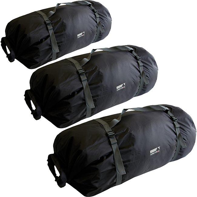 HIGH PEAK Universal Zelt Pack Tasche - Kompressions Aufbewahrung Schutz Camping Größe: 5-6 Personen-Zelte - Bild 1