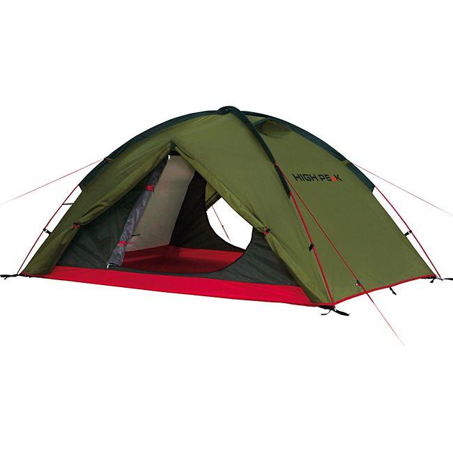 HIGH PEAK Woodpecker 3 Personen Zelt - Campingzelt Kuppelzelt Igluzelt - leicht - Bild 1