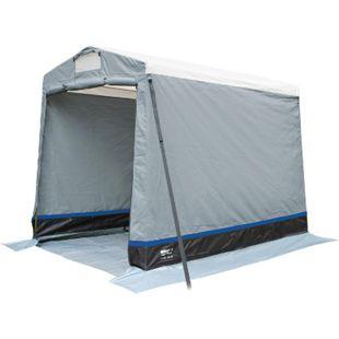 HIGH PEAK Multitent Lagerzelt Camping Küchen Zelt Umkleide Geräte Beistellzelt - Bild 1