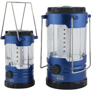 YELLOWSTONE 2er Set Zeltlampe LED Laterne - Campinglampe Zeltlicht Gartenleuchte - Bild 1