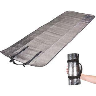 OUTDOOR Isomatte Single - Alu Matte Thermo Isolier Matte Thermomatte leicht 110g - Bild 1