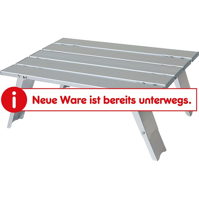 YELLOWSTONE Alu Mini Tisch Rolltisch Beistelltisch Falttisch Angeln bivy 2 Höhen - Bild 1