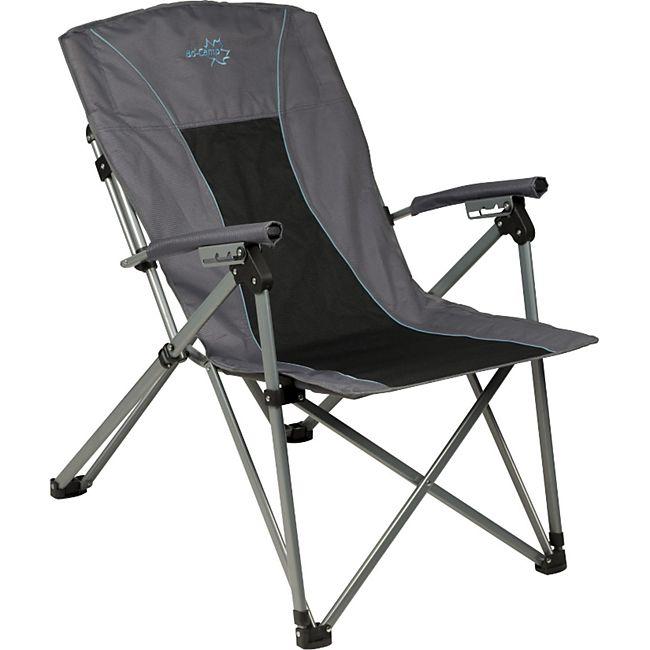 BO-CAMP Deluxe King Plus Campingstuhl Klapp Stuhl Angeln Falt Sessel verstellbar - Bild 1