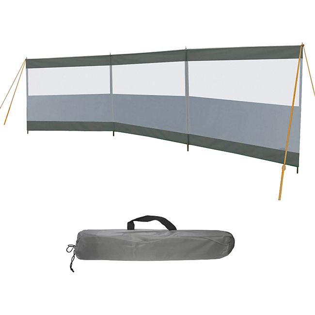 BO-CAMP Windschutz Season 500x140 Camping Sichtschutz XL Garten Strand groß 300D - Bild 1