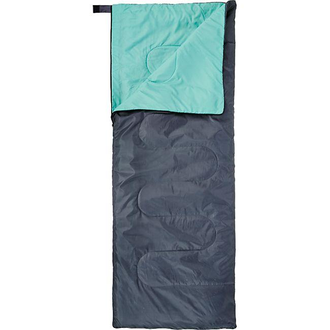 OPEN AIR Deckenschlafsack Oslo –  Sommer Schlafsack Hütten Camping Decke – Lang - Bild 1