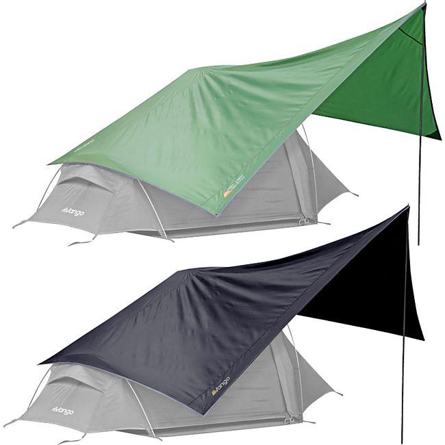 VANGO Trek Tarp Sonnensegel Trekking Vor Zelt Dach Schutz Camping Outdoor 5000mm Farbe: anthrazit - Bild 1