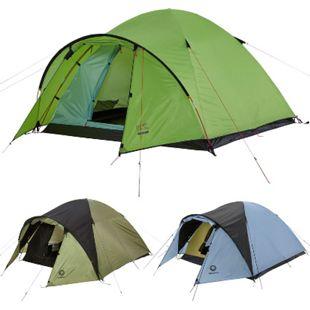 GRAND CANYON Igluzelt Topeka 3 & 4 Personen Kuppel Familien Zelt Vorraum Camping Modell: Topeka 4 Green - Bild 1