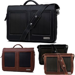 SunnyBAG Laptop Tasche Business Professional+/Executive+ Solar Panel & PowerBank Variante: Executive brandy - Bild 1