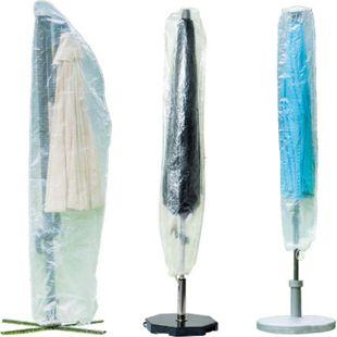 WEHNCKE Party Garten Schirm Schutzhülle - Sonnen Schirm Hülle Haube Abdeckung PE Variante: Für Ampelschirme 64x250cm - Bild 1