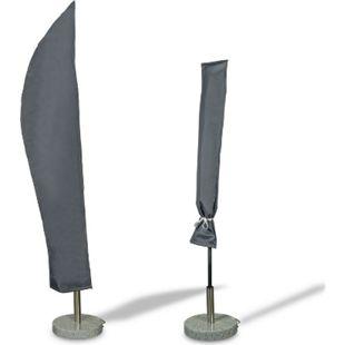 WEHNCKE Party Garten Schirm Schutzhülle Sonnen Schirm Hülle Haube Abdeckung 420D Variante: Für Garten Ampelschirm Ø 200-400 cm - Bild 1