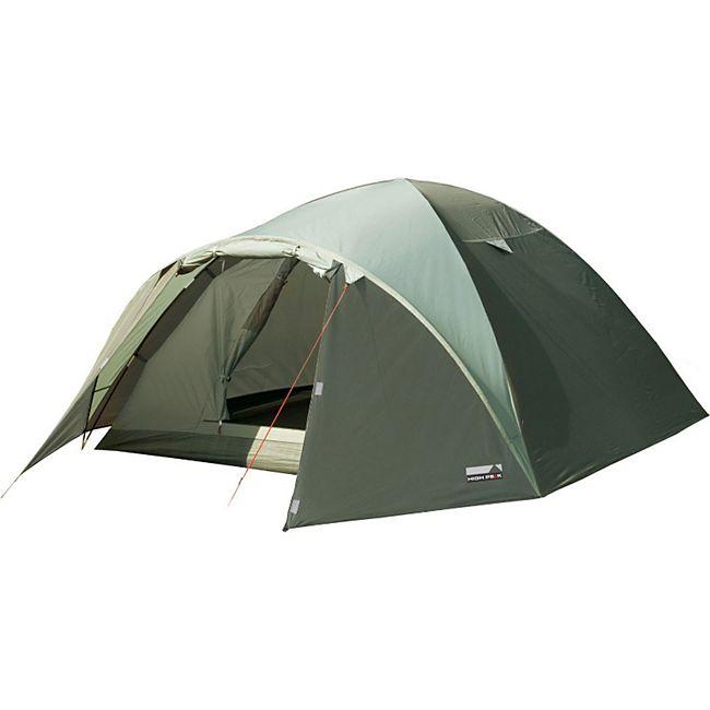 HIGH PEAK Iglu Zelt Nevada 3 Personen Camping Kuppelzelt Trekkingzelt Vorraum - Bild 1