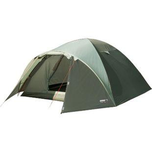 HIGH PEAK Iglu Zelt Nevada 4 Personen Camping Kuppelzelt Trekkingzelt Vorraum - Bild 1