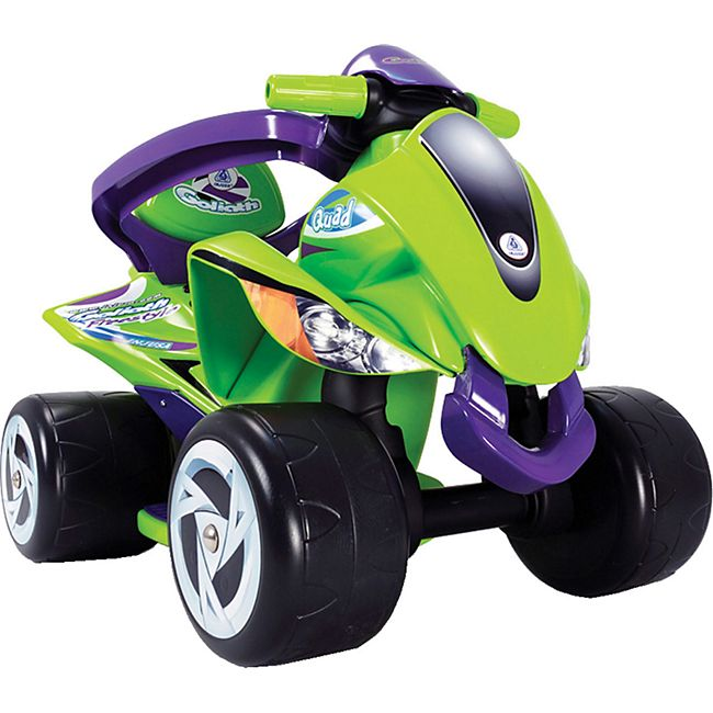 INJUSA Kinder Laufrad Quad Goliath 6in1 Baby Rutscher Auto Lauflernhilfe Lernrad - Bild 1