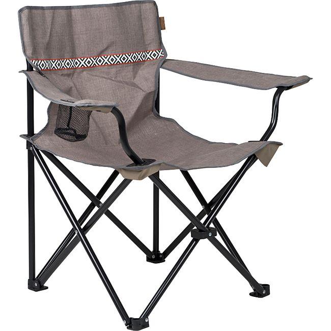 BO-CAMP Klappstuhl Camping Stuhl Retro Strandstuhl Faltsstuhl Angelstuhl 100 kg - Bild 1
