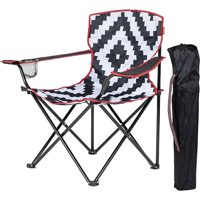 BO-CAMP Campingstuhl Madison - Klappstuhl Garten Stuhl Klappsessel Angeln Retro - Bild 1