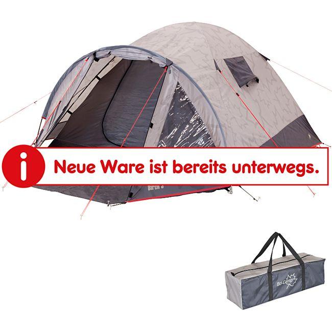 BO-CAMP Kuppelzelt Birch 2-3 Personen Zelt Trekkingzelt Igluzelt Camping Vorraum - Bild 1
