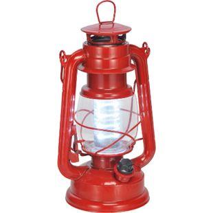 Nostalgie Sturm Laterne LED - Camping Lampe Zelt Garten Leuchte Outdoor dimmbar - Bild 1
