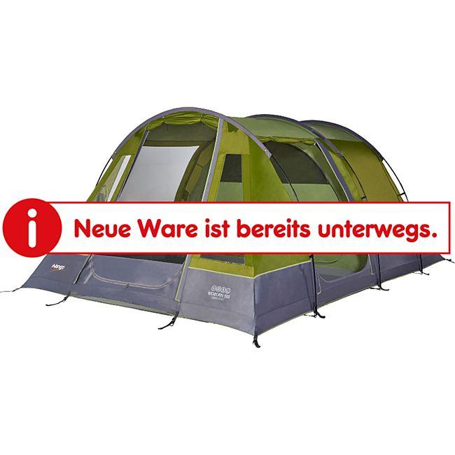 VANGO Tunnelzelt Woburn 500 - Familienzelt 4-5 Personen Zelt Camping mit Vorraum - Bild 1