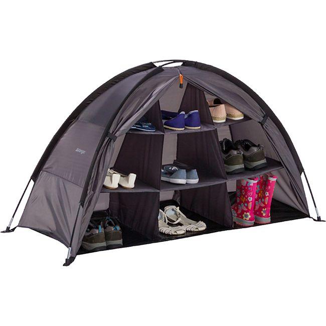 VANGO Storage Organiser Camping Regal Zelt Schrank Organizer Faltschrank 9Fächer - Bild 1