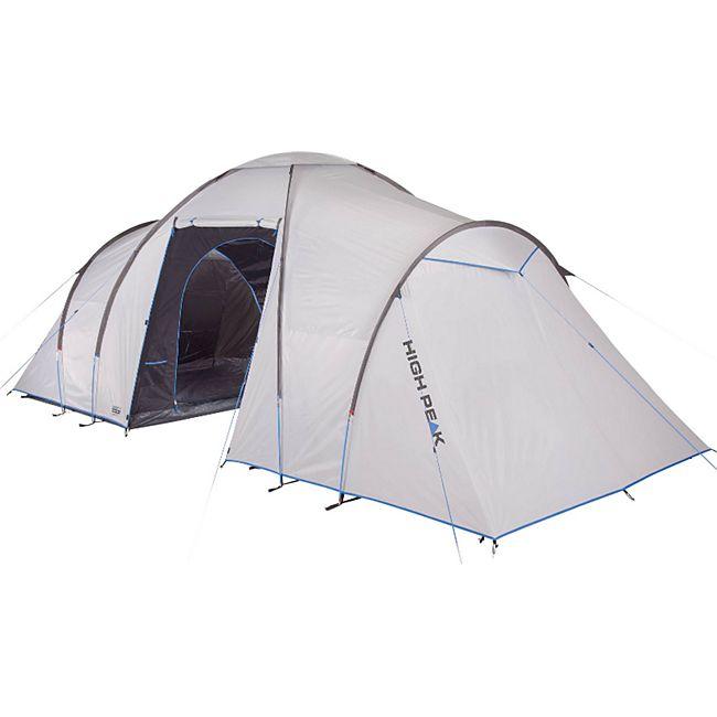 HIGH PEAK Como 4/6 Personen Zelt Familienzelt Kuppelzelt Campingzelt mit Vorraum Modell: 470x230x190 cm - Bild 1