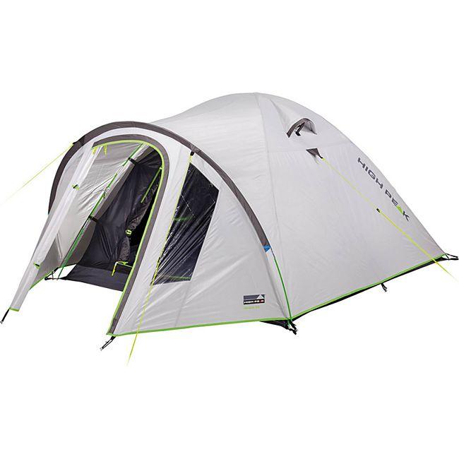 HIGH PEAK Kuppelzelt Nevada 2 3 4 5 Personen Iglu Zelt Camping Trekking Vorraum Modell: Nevada 2 - Bild 1