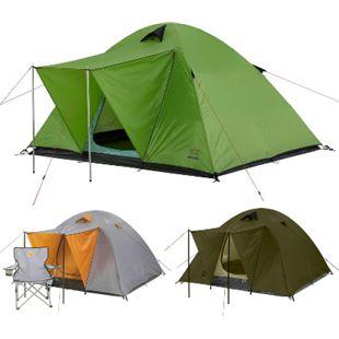 GRAND CANYON 3-4 Personen Zelt Phoenix L - Kuppel Familienzelt Gruppen Camping Farbe: Grün - Bild 1