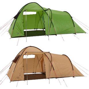GRAND CANYON Igluzelt Fraser 3 Personen Tunnel Familien Zelt Vorraum Camping Farbe: Grün - Bild 1
