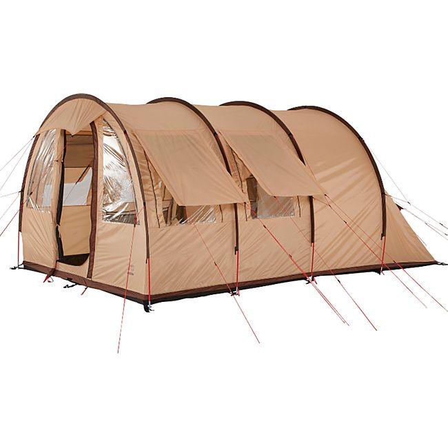 GRAND CANYON Tunnelzelt Helena 3 Personen Zelt XL Familienzelt Camping Vorraum - Bild 1