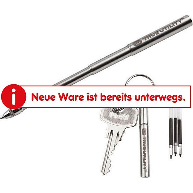 TRUE UTILITY Telepen - Mini Teleskop Kugelschreiber Minitool Schlüsselanhänger - Bild 1
