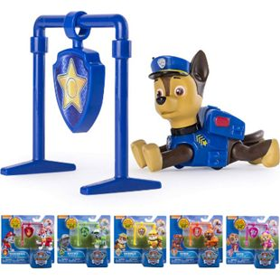 PAW PATROL Roll Back Pup Welpe Spielfigur Actionfigur Kinder Spielzeug Figuren Variante: Rubble - Bild 1