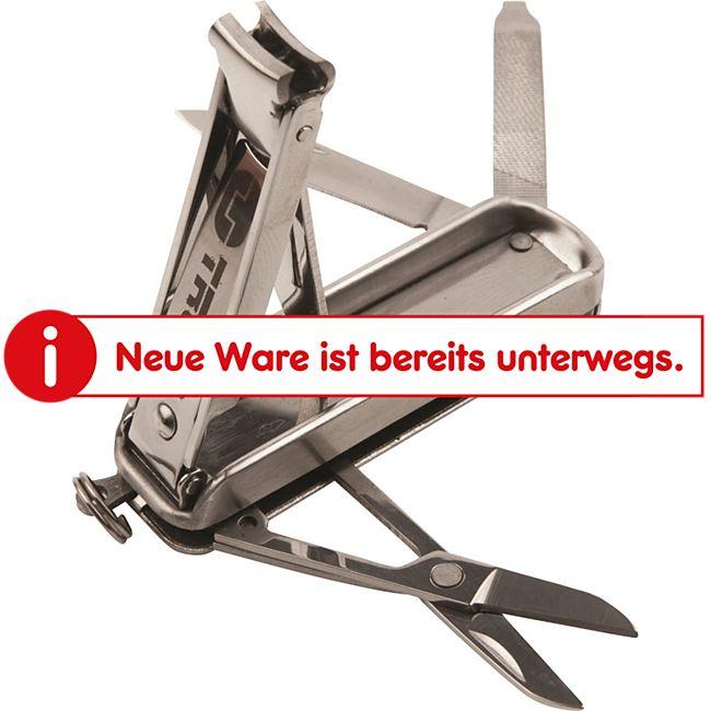 TRUE UTILITY NailClip Kit Nagelknipser Schlüsselanhänger Nagelpflege Nagelfeile - Bild 1