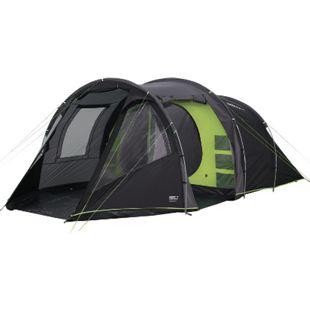 HIGH PEAK Tunnelzelt Paros 5 Personen Camping Familien Zelt 2 Kabinen Vorraum - Bild 1