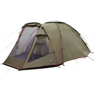 HIGH PEAK Kuppelzelt Almada 4 Personen Iglu Zelt Camping Familienzelt Vorraum - Bild 1