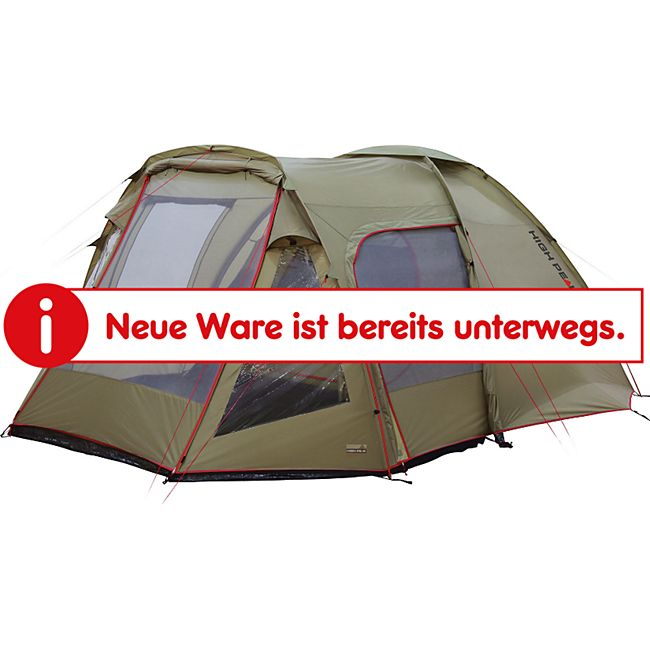 HIGH PEAK Kuppelzelt Amora 5 Personen Camping Iglu Zelt Familienzelt Vorraum - Bild 1