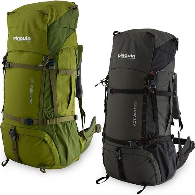 PINGUIN Outdoor Rucksack Activent 55 Liter -Trekkingrucksack -höhenverstellbar ! Farbe: grün - Bild 1