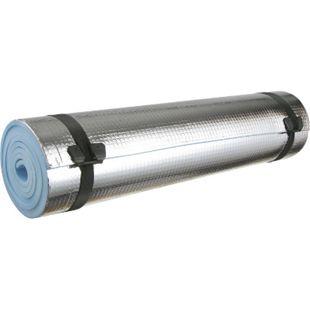 EVA Isomatte -Thermomatte 180x50x0,6 cm Alu-Beschichtung -klein&leicht nur 170g! - Bild 1