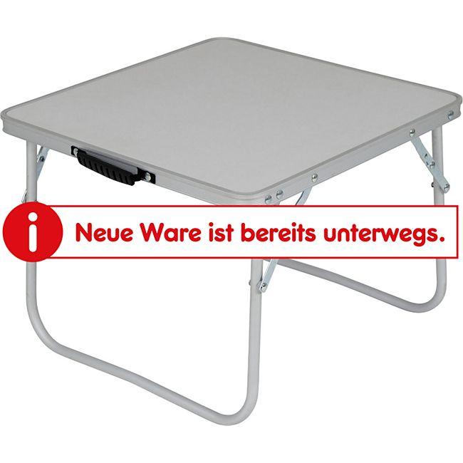CAMP GEAR Mini Falttisch Camping Beistell Klapp Tisch Garten Klappbar Angeln 1kg - Bild 1