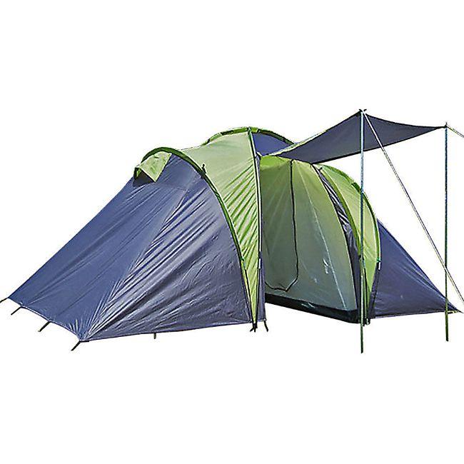 EXPLORER Zelt Sierra -4 5 6 Personen Camping Familienzelt Kuppelzelt Campingzelt - Bild 1