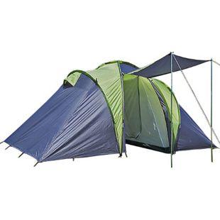 EXPLORER Zelt Sierra 4 Personen Mann Camping Familienzelt Kuppelzelt Campingzelt - Bild 1