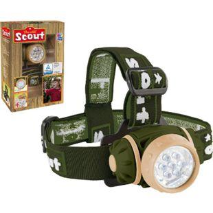 SCOUT Kinder Stirnlampe -Kopflampe Taschenlampe -Camping Kindertaschenlampe OVP! - Bild 1