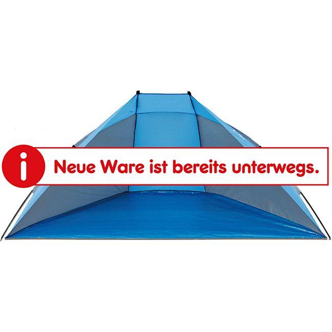 EXPLORER Strandmuschel Sonnenschutz - Strand Wind Schutz Kinder Spiel Zelt UV 80 - Bild 1