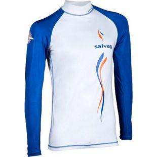 SALVAS Rash Guard Langarm Strand Bade Shirt Surf Top SUP Tauchen Lycra UV UPF50+ Größe: XS - Bild 1
