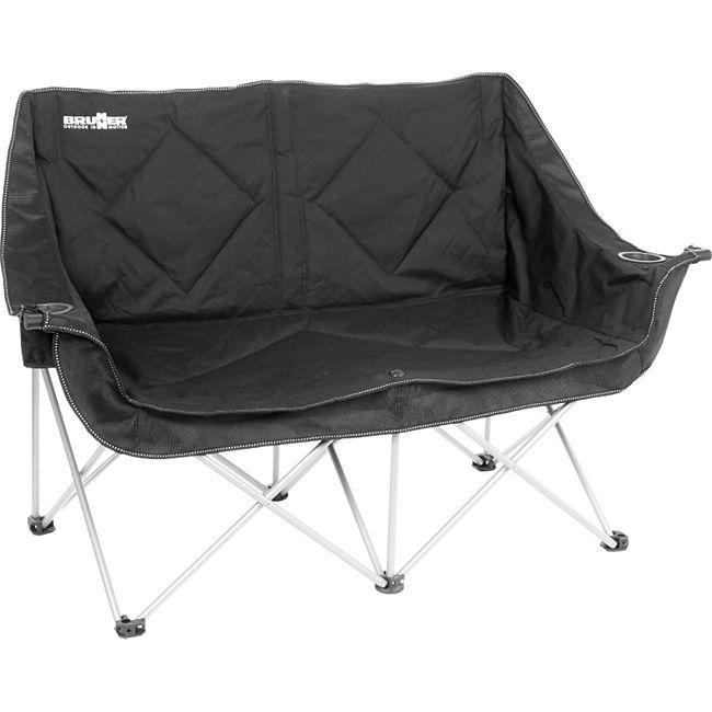 BRUNNER Camping Falt Sofa Action Double Doppel Lounge Klapp Stuhl Garten Couch - Bild 1