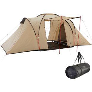 GRAND CANYON Kuppelzelt Atlanta 4 Personen Zelt Iglu Familien Camping Vorraum - Bild 1
