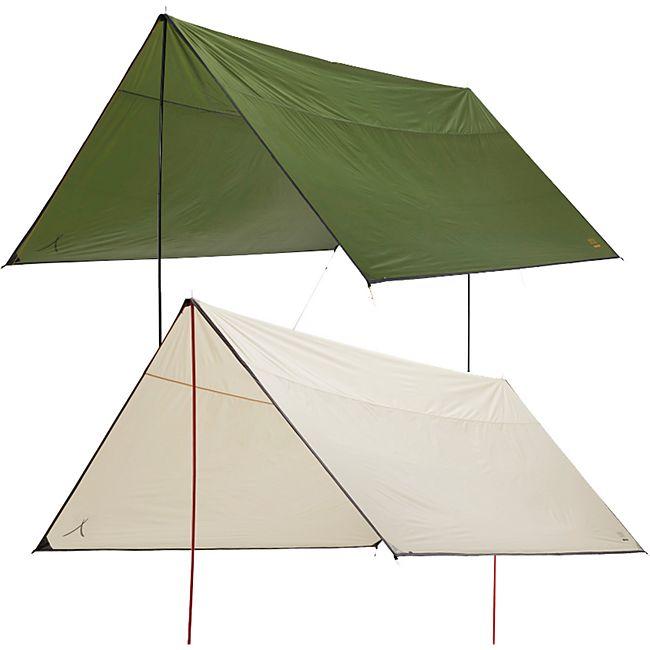 GRAND CANYON Tarp Zuni 4 Sonnensegel Camping Vor Zelt Plane UV50 Wasserdicht 4x4 Farbe: Capulet Olive - Bild 1