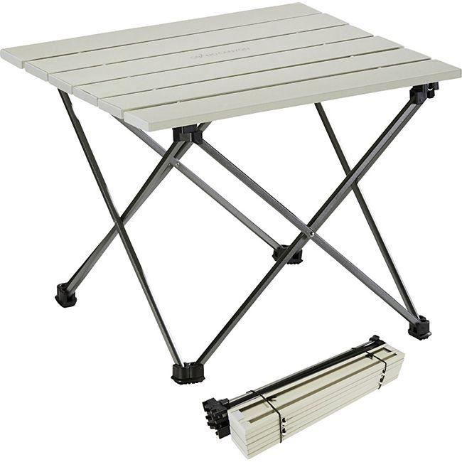 GRAND CANYON Tucket Mini Alu Rolltisch Camping Beistell Falt Tisch Leicht Bivy - Bild 1