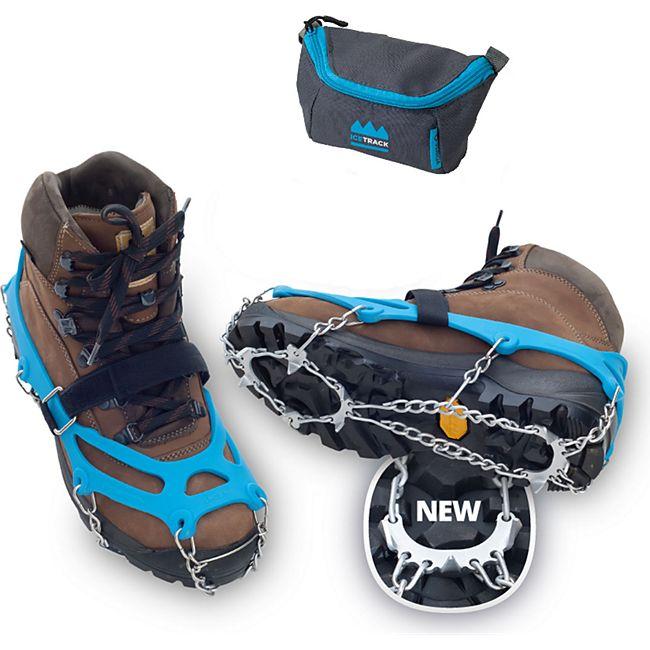 VERIGA Ice Track Schuhkrallen Eis Krallen Schuh Spikes Schnee Ketten Steigeisen Größe: L (41-44) - Bild 1